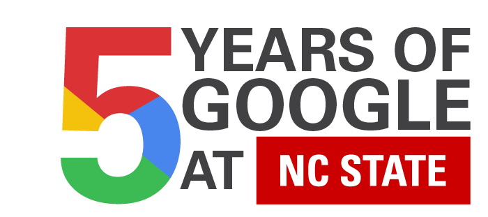 Five Years of Google at NC State